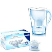 BRITA Marella XL Cool Water Filter Jug - White 3.5L (Includes 7 MAXTRA Cartridges)