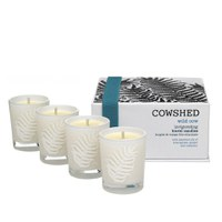 Cowshed Wild Cow Invigorating Travel Candles 4 x 38g