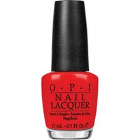 OPI Red My Fortune Cookie  Red My Fortune Cookie