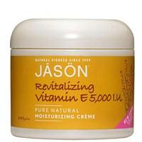 Crema hidratante revitalizante vitamina E JASON (120g)