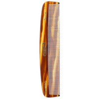 Kent Tortoiseshell Effect Fine Pocket Comb - Medium (7T)