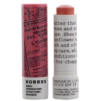 KORRES Mandarin Lip Butter Stick SPF15 - Peach