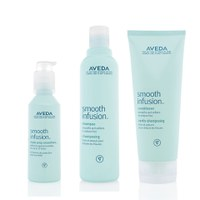 Aveda Smooth Infusion Trio- Shampoo, Conditioner & Style Prep Smoother