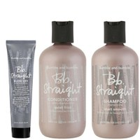 Bb Straight Trio - Shampoing, Après-shampoing and Baume pour le brushing