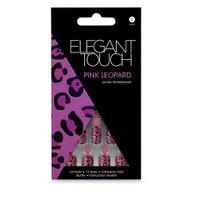 Elegant Touch Design Nails - Pink Leopard