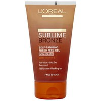 L'Oreal Paris Sublime Bronze Self Tanning Fresh Feel Gel (150ml)