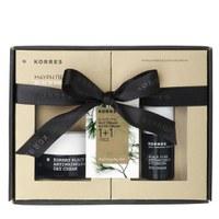 Korres Black Pine 1+1 Set - Eye Cream (15ml) and Day Cream for Dry Skin (40ml) (Worth £75.00)