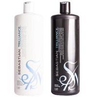 Sebastian Professional Trilliance Shampoo and Conditioner (2 x 1000 ml)
