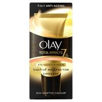 Olay Total Effects Eye Moisturiser and Touch of MaxFactor Concealer - Adaptive Skin Colour (15ml)
