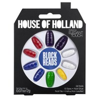 House of Holland Nails Created by Elegant Touch - Blockheads
