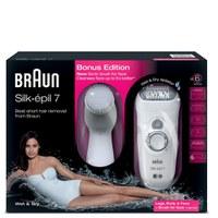 Braun SE7569 Facial Epilator and Facial Cleanser