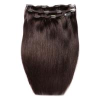 Extensiones de cabello Deluxe Clip-In de 45,7 cm de Beauty Works - Raven 2