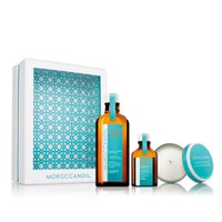 Moroccanoil Home & Away Light (25% Saving + free Candle worth £12.95)
