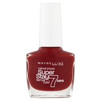 Forever Strong Nail Varnish de Maybelline - Deep Red