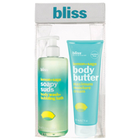 BLISS LEMON AND SAGE SOAP SUDS AND BODY BUTTER SET