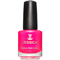 Jessica Nails Cosmetics Custom Colour Nail Varnish - Raspberry (14.8ml)