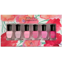 Deborah Lippmann Pretty in Pink Nail Varnish Set (6 x 8ml) (Worth £51.00)