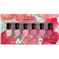"Set de vernis à ongles ""Pretty in Pink"" Deborah Lippmann (6 x 8 ml)"
