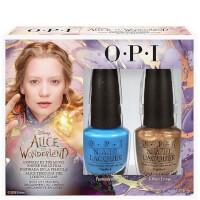 Collection de vernis à ongles Alice aux pays des merveillesOPI - Coffret duo Alice2 x 15 ml