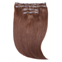 "Beauty Works Jen Atkin Invisi-Clip-In Hair Extensions 18"" - Chocolate 4/6"