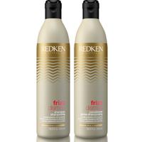 Redken Frizz Dismiss Shampoo & Spülung Bündel 500ml