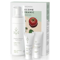 MÁDARA Become Organic Set 3 Step Pack (Worth £40)