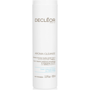 DECLÉOR Hydra-Radiance Smoothing and Cleansing Mousse (100ml)