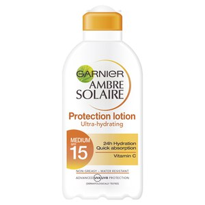 Garnier Ambre Solaire Milk SPF15 Vitamin C (200ml)