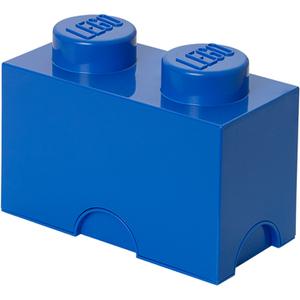 LEGO Aufbewahrungsbox 2 Noppen - Blau