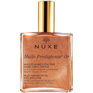 NUXE Huile Prodigieuse Or - Multi Usage Dry Oil - Golden Shimmer (100 ml)