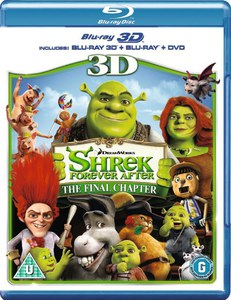 Shrek Felices para siempre 3D (Blu-Ray 3D, Blu-Ray 2D y DVD)