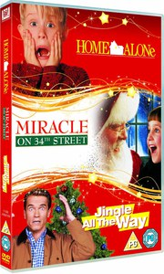 Family Christmas Triple: Home Alone / Miracle on 34th Street / Jingle All the Way