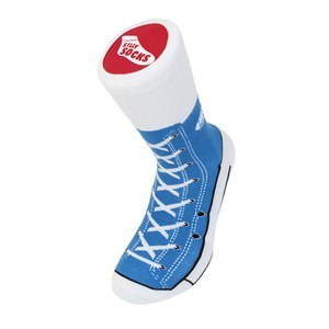 Silly Socks Baseball Boots - Blue