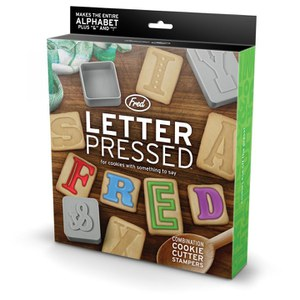 Letter Pressed Biscuit Shapes