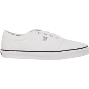 Fenchurch Men's Grind Canvas Pumps - White