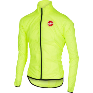 Castelli Squadra Due Cycling Jacket - Yellow