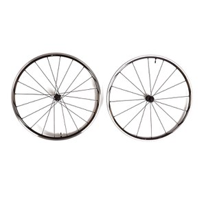 Shimano RS61 Clincher Tubeless Wheelset - Black/Silver