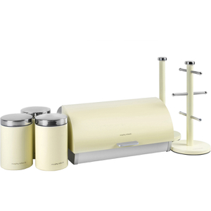 Morphy Richards 974103 6 Piece Storage Set - Cream