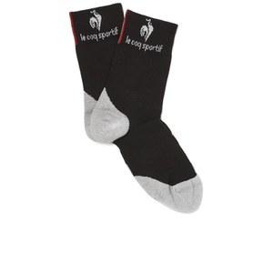 Le Coq Sportif Performance Tech Socks - Black/Grey