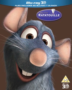 Ratatouille 3D (Includes 2D Version) - Limited Edition Artwork (O-Ring)
