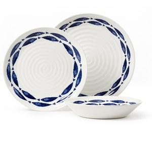 Sieni Fishie On A Dishie 12 Piece Dining Set