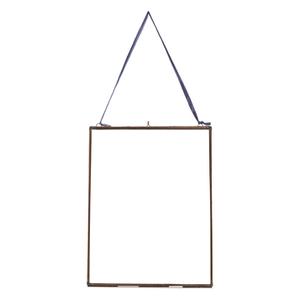 Nkuku Extra Large Kiko Glass Frame - Antique Copper - Portrait 11