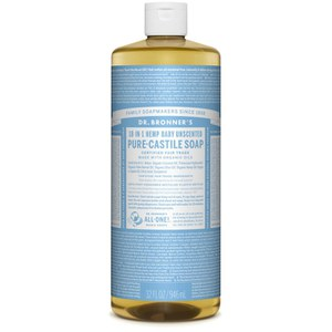 Dr. Bronner Organic Baby-Mild Cast Liquid Soap (946ml)
