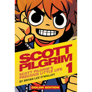 Scott Pilgrim - Volume 1 Color Hardcover Graphic Novel