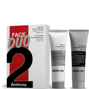 Anthony Anthony Face Duo (Glycolic Facial Cleanser and All Purpose Facial Moisturizer)