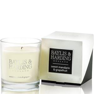 Baylis & Harding Mosaic Sweet Mandarin and Grapefruit Single Wick Candle