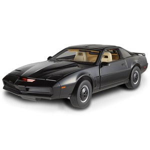 Hot Wheels Elite Knight Rider K.I.T.T Limited Edition 1:18 Scale Model