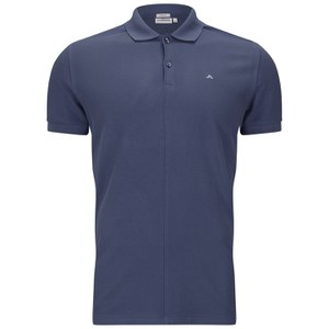 J.Lindeberg Men's Rubi Slim Fit Polo Shirt - Washed Blue