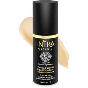 INIKA Certified Organic Liquid Mineral Foundation (Varios colores)