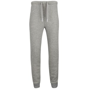 T by Alexander Wang Men's Frenchterry Sweatpants - Heather Grey